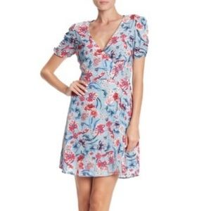 French blu willow and clay dress sz m